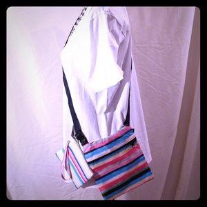 Bags - Spring Rainbow Crossbody & Wristlet ( NWT)